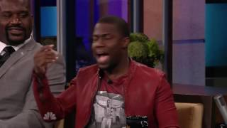 Shaq lifts & flips Kevin Hart   Full Interview Video