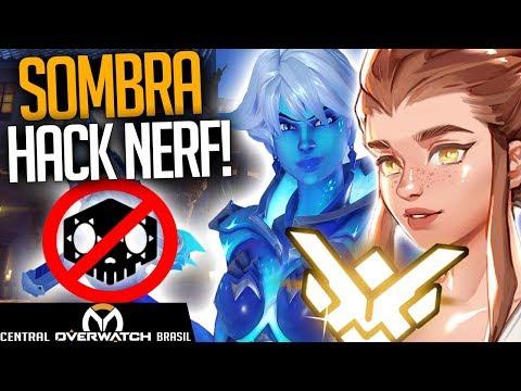 Overwatch - Hack da SOMBRA NERF e Brigitte não entra na RANKED! - Central Overwatch Brasil