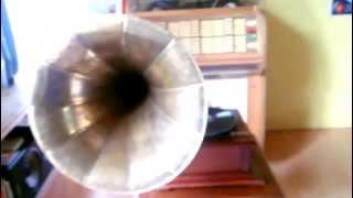 Stalin Freund Genosse Trichter Horn Grammophon 78Rpm Gramophone