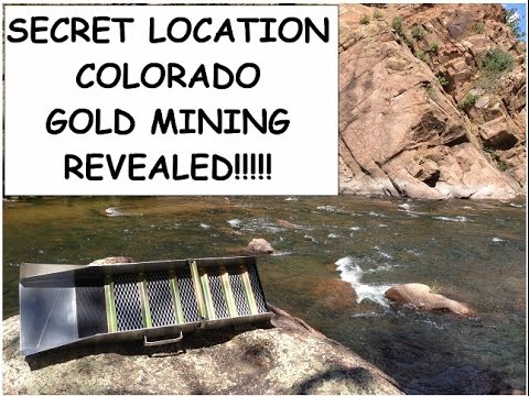 Secret Location in Colorado (GOLD PROSPECTING) REVEALED!!!!