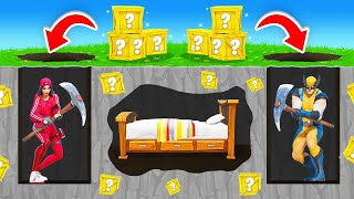 *NEW* BED WARS Lucky Blocks Custom Game in Fortnite