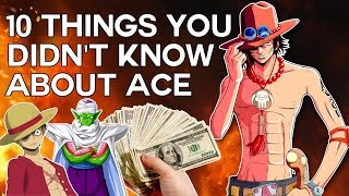 10 Things You Didnt Know About Portgas D Ace Probably  - One Piece