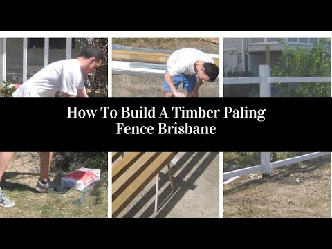 how-to-build-a-post-and-rail-fence-brisbane-australia-|-aaa-timber
