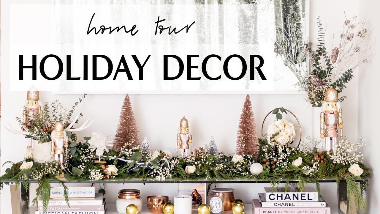 Holiday Home Decor Easy Diy Ideas I Sydne Summer Youtube