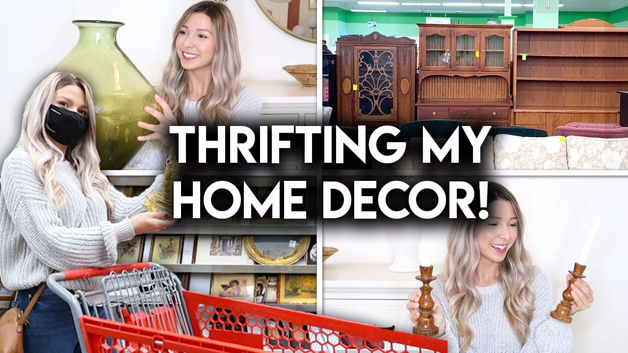 Download HOME DECOR ON A BUDGET | THRIFT WITH ME + HAUL