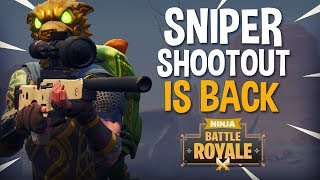 Sniper Shootout Is Back!! 24 Frags - Fortnite Battle Royale Gameplay - Ninja thumbnail