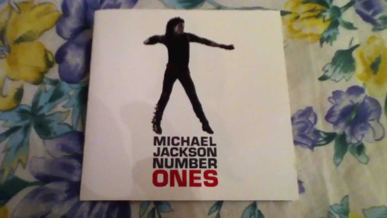 Michael Jackson Number Ones (Bad Cover) CD Unboxing - YouTube