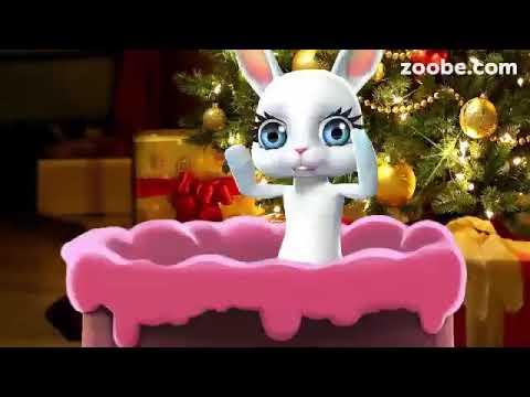 Zoobe Зайка С Новым Годом поздравляю!!! - Клип смотреть онлайн с ютуб youtube, скачать