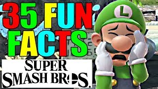35 FUN FACTS For Super Smash Bros Ultimate