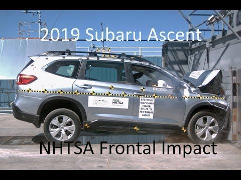 2019 Subaru Ascent NHTSA Frontal Impact