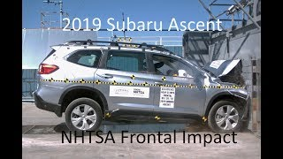 2019-2020 Subaru Ascent Nhtsa Frontal Impact