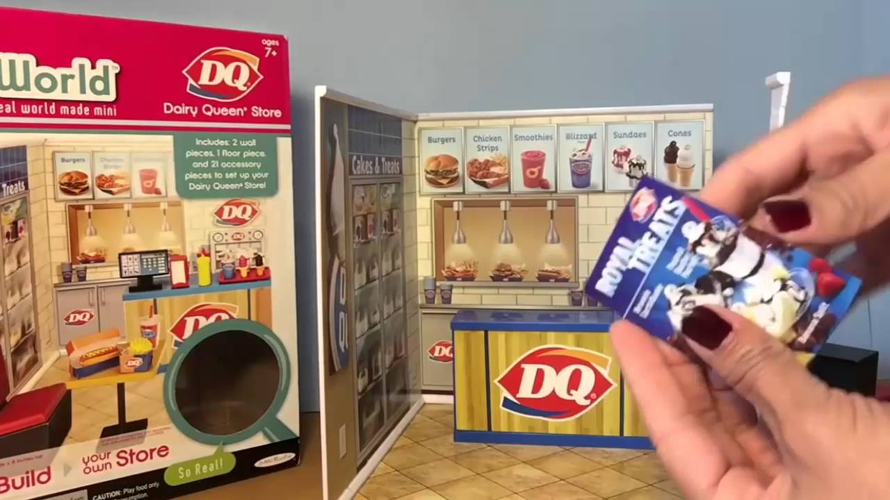Dairy Queen Toys : Dairy queen blizzard ice cream maker spin master toys