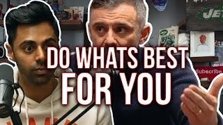 Hasan Minhaj and Gary Vaynerchuk's Advice on Chasing Your Dreams