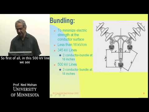 Power Systems  Transmission Lines and Cables Part 1