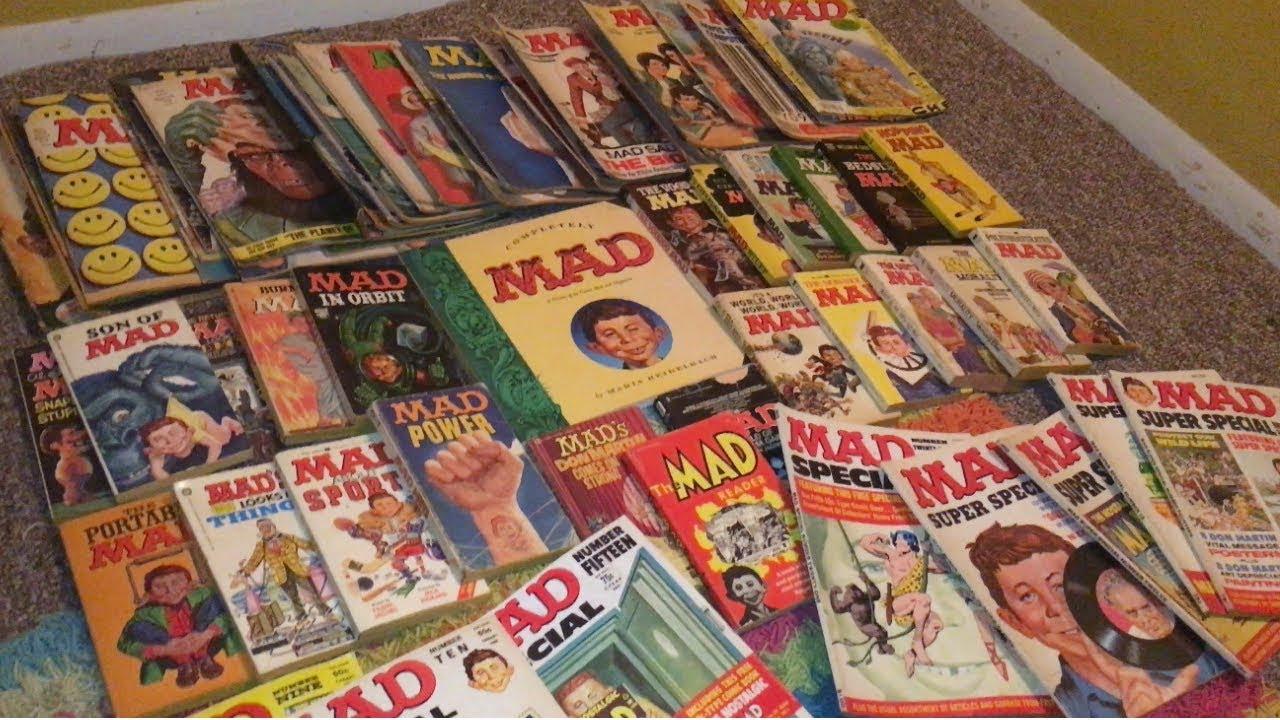 magazine mad 70s 60s 90s
