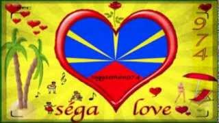 "Souvenir "" séga love "" 974    ( ile de la Réunion)"