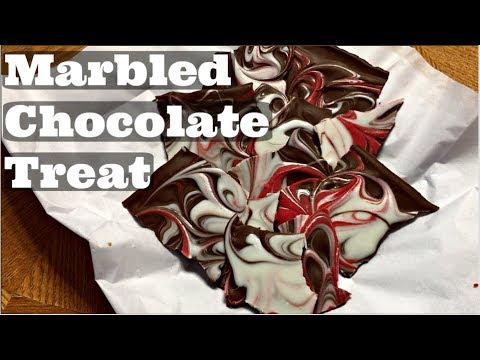 Marbled Chocolate Treats