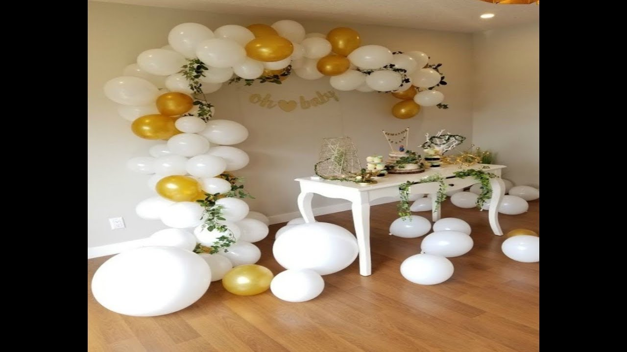 Decoration De Ballon Diy Comment Faire Une Arche De Ballon Ou Guirande How To Make A Balloon Arch