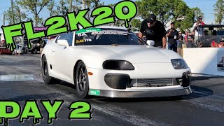 FL2K20 Making 9 second cars look slow in Drag Race Qualifying. Cleetus & Ruby Rip new best!