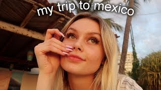 went to mexico & got deathly ill..