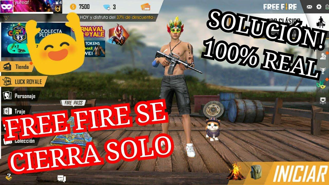 free fire me saca del juego