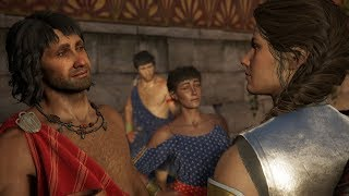 Assassin's Creed Odyssey Mikkos Romance & Foursome (Kassandra)