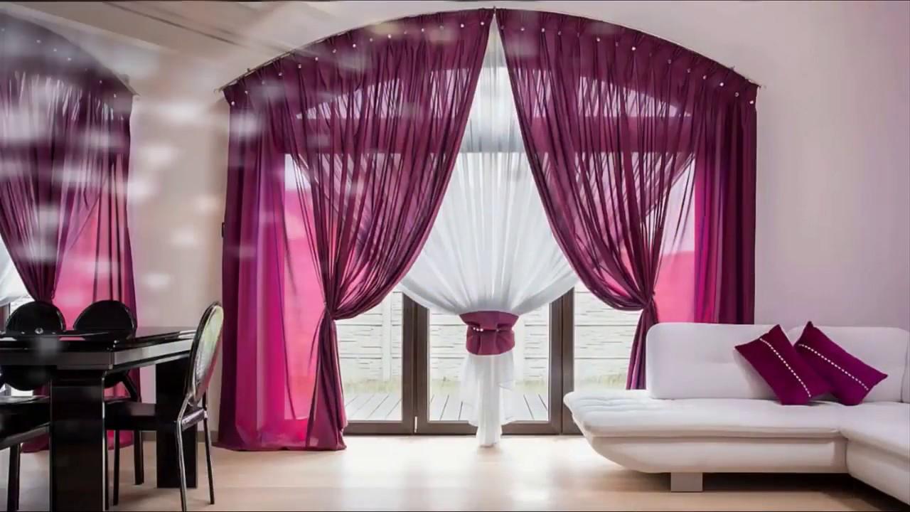 60 cortinas modernas para sala comedor y dormitorios for Cortinas de comedor