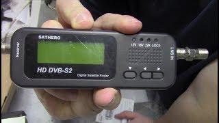 SatHero 100HD DVB-S2 Satellite Finder Review