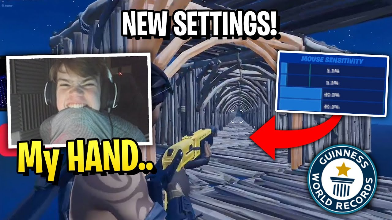 Mongraal Almost Broke his Hand After Speed up Editing With New Settings!