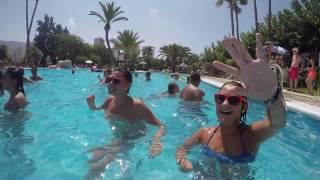 Camping Villasol de Benidorm animación en la piscina-02