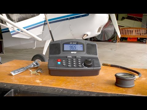 Sporty's Air Scan® Aviation Radio with Bluetooth®