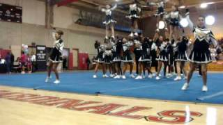 Santee Cheerleaders at Sharp competition 2010