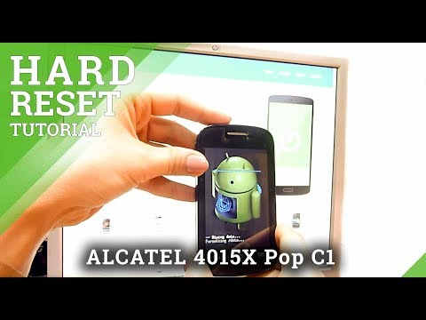 Hard Reset Alcatel OT ALCATEL 4015X Pop C1