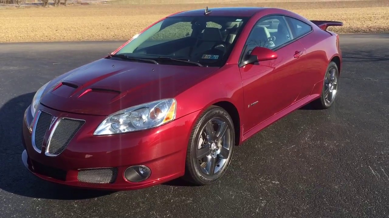small resolution of 2009 pontiac g6 gxp coupe
