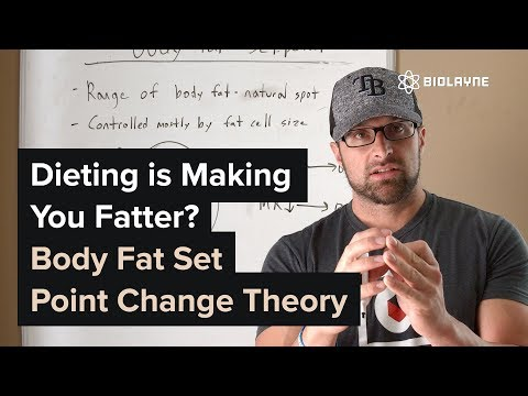 Dieting is Making You Fatter? Body Fat Set Point Change Theory