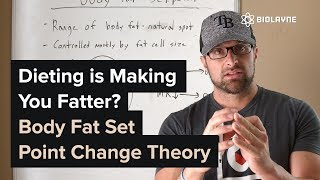 Dieting is Making You Fatter? - Body Fat Set Point Change Theory