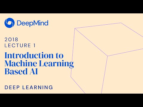 Deep Learning 1: Introduction to Machine Learning Based AI