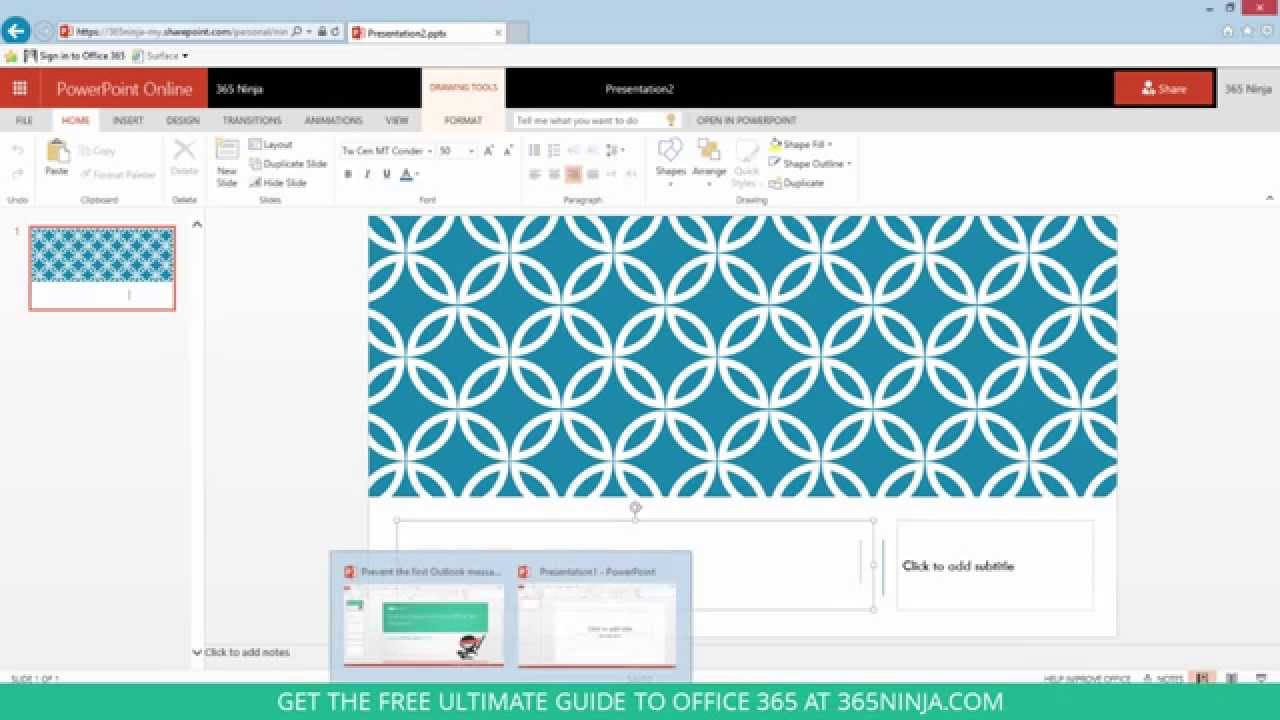 How to install and use a powerpoint 2013 or powerpoint online how to install and use a powerpoint 2013 or powerpoint online template toneelgroepblik Gallery