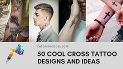 50 Cool Cross Tattoo Designs and Ideas