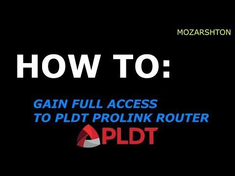 Gain Full Access to PLDT FIBR/DSL Routers (2018)