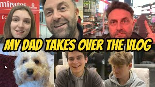 MY DAD TAKES OVER MY WEEKLY VLOG WHILE I'M AWAY! *ooohhh dearrr*