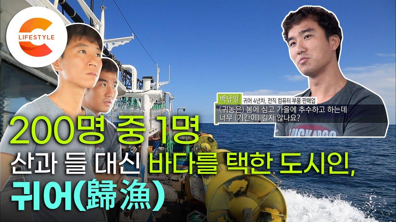 농사 대신 바다를 택한 이유! 200명 중 1명이 선택한다는 귀어, 청년 어부들의 만선의 꿈