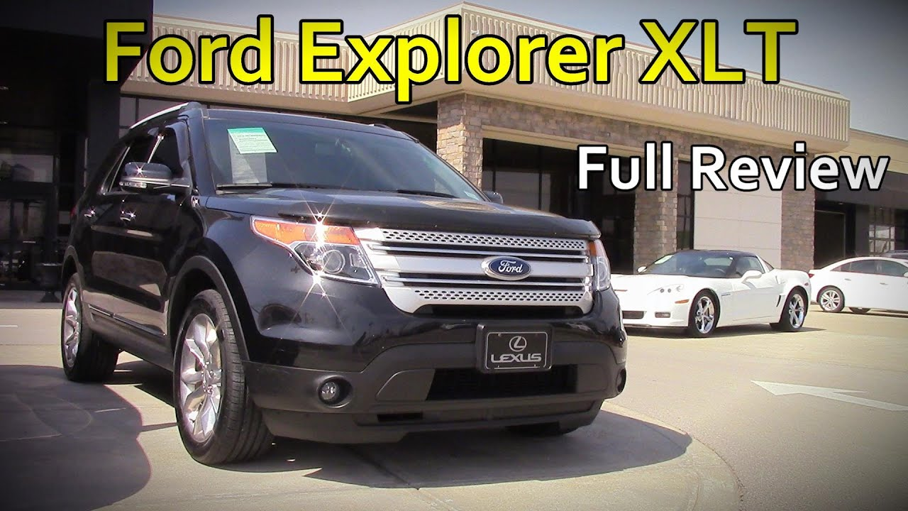 Ford Explorer Limited >> 2014 / 2015 Ford Explorer XLT, Limited and Sport: Full Review - YouTube