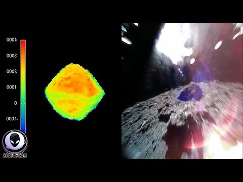 LOOKS ARTIFICIAL: Japan Hiding Truth Of Asteroid Landing?