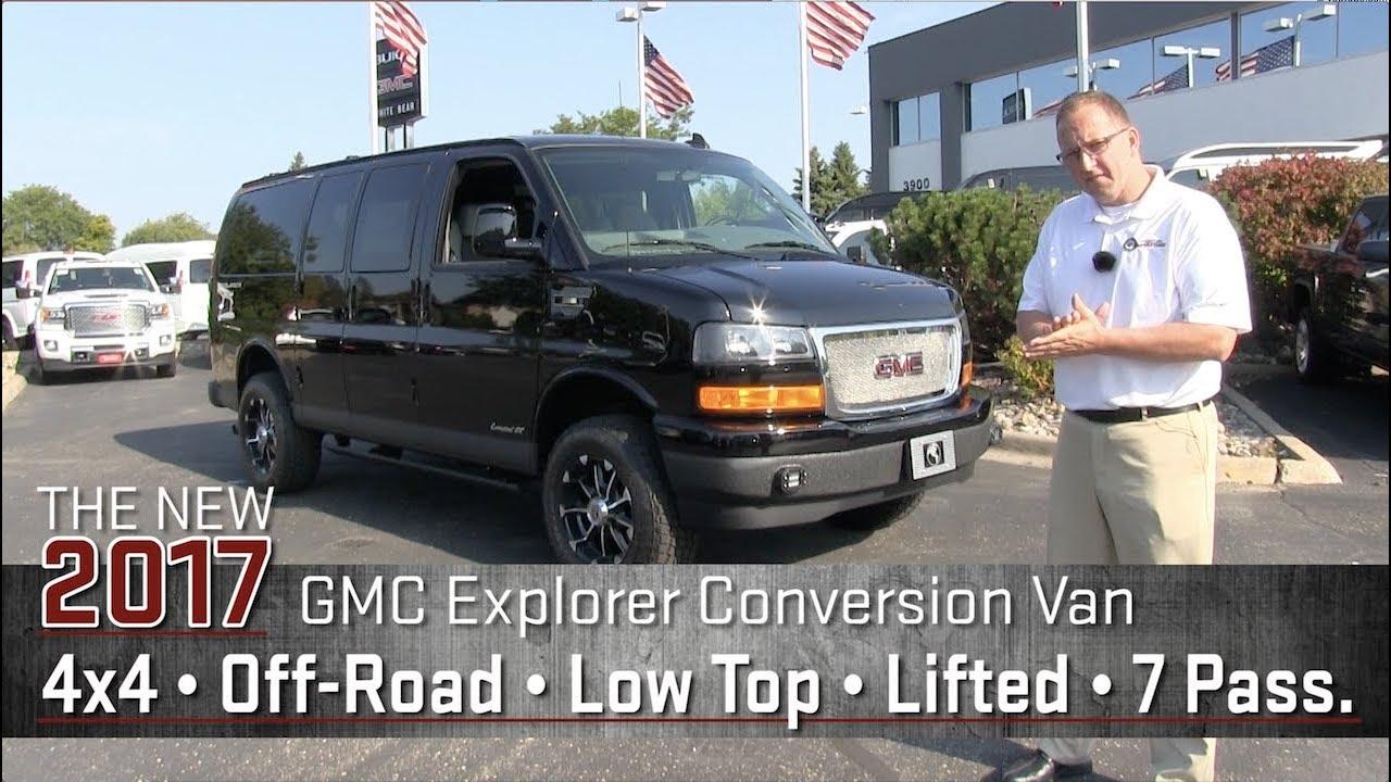 New 2017 GMC Lifted Conversion Van 4x4