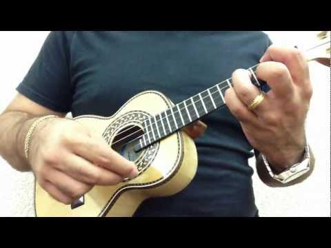Cavaco Do souto em faia modelo canhotinho luthier osvaldo