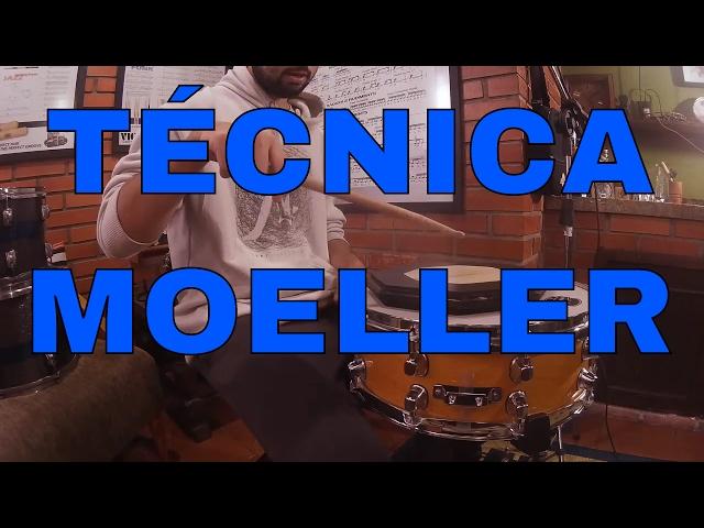 Vídeo Aula  - Como fazer e praticar a  Técnica Moeller