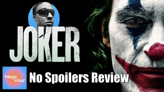 Joker - No Spoilers Review