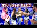 NYC Street Magic! | (With Approaching the Group)