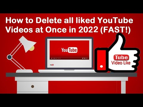 How To Delete All Liked Videos On YouTube 2021
